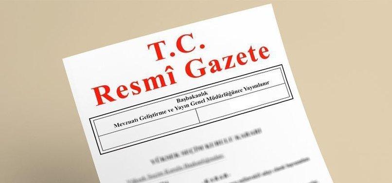 REFERANDUM TARİHİ RESMİ GAZETE'DE