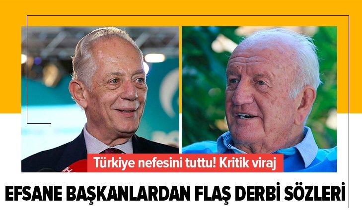 ALİ ŞEN VE FARUK SÜREN'DEN FLAŞ DERBİ AÇIKLAMASI!