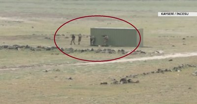 Komandolar düşman saflarına sızdı! Nefes kesen tatbikat |Video