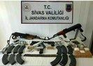 Son dakika: Sivas'ta operasyon! Evden cephanelik çıktı