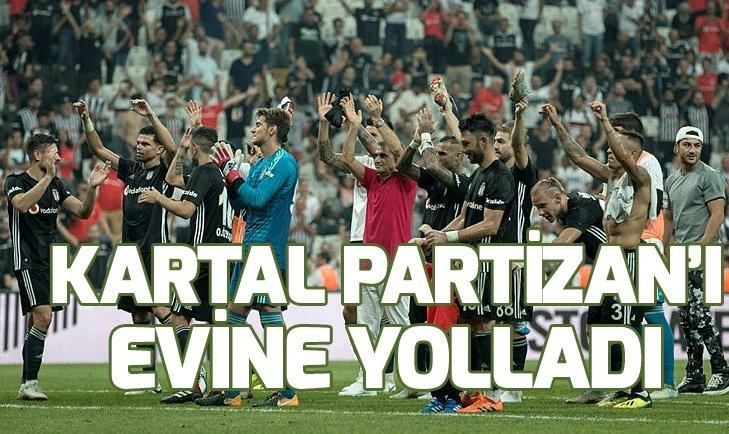 KARTAL PARTİZAN'I EVİNE YOLLADI