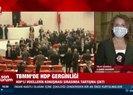HDP'li vekillerden Meclis'te Kobani provokasyonu! A Haber muhabiri detayları canlı yayında aktardı