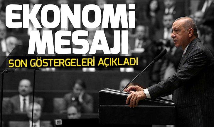 Başkan Erdoğandan ekonomi mesajı: Tam bir ekonomik sabotaj hali