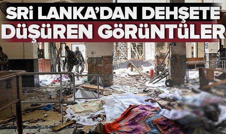 Son dakika: Sri Lanka'da art arda patlamalar