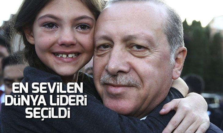 Başkan Erdoğan en sevilen dünya lideri seçildi