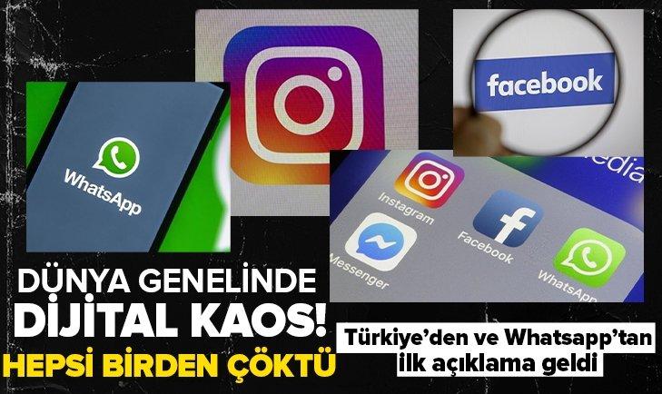 ¿Whatsapp, Instagram y Facebook se bloquearon?
