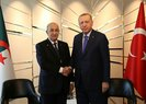 Başkan Erdoğan, Cezayirli mevkidaşı Abdulmecid Tebbun ile görüştü