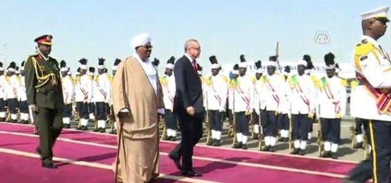 CUMHURBAŞKANI ERDOĞAN SUDAN'DA