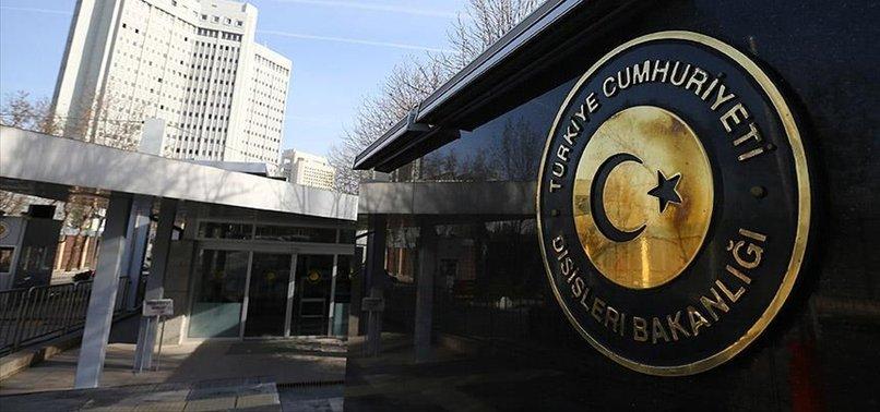 TÜRKİYE'DEN RUMLARIN ENOSİS KARARINA TEPKİ