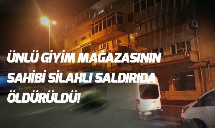 Beşiktaş'ta işadamı silahlı saldırıda öldürüldü