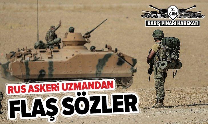 RUS ASKERİ UZMAN FLAŞ SÖZLER!
