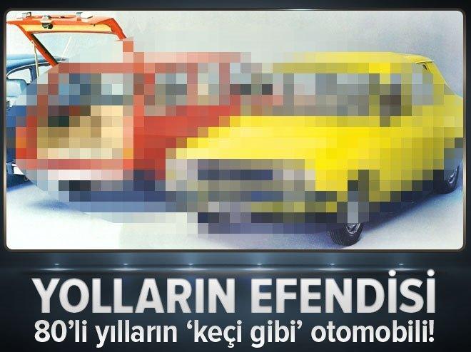 80'Lİ YILLARIN 'KEÇİ GİBİ' OTOMOBİLİ!