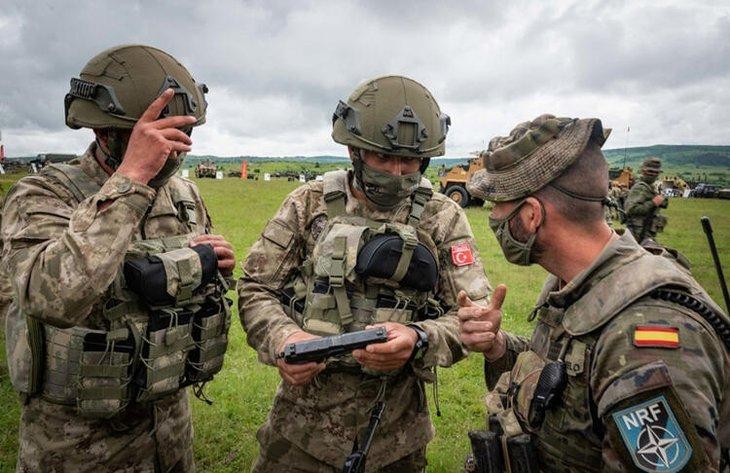 NATO askeri tatbikatında komuta Türk askerinde! ABD'de yayınlandı