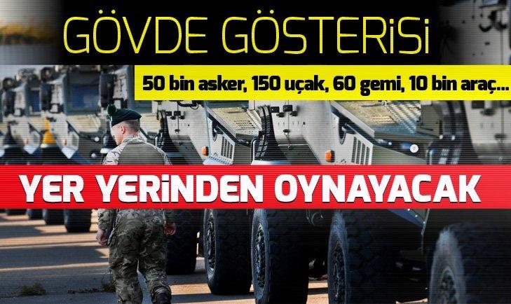 NATO'DAN RUSYA'YA GÖVDE GÖSTERİSİ!