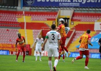 Küme düşme hattında kıran kıran mücadele   Kayserispor 2 - 2 Gençlerbirliği MAÇ SONUCU ÖZET