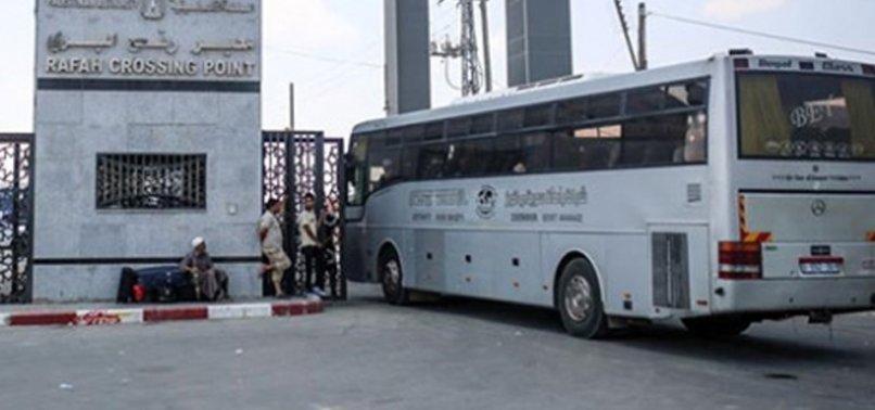 GAZZE ŞERİDİ'NDEKİ REFAH SINIR KAPISI RAMAZAN AYI İÇİN AÇILDI