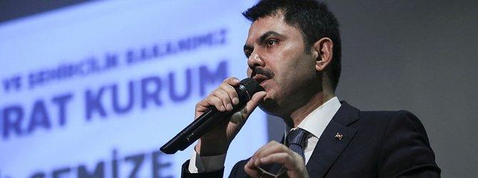 Murat Kurum: Bu dev tesis, yıllık 450 bin ton...