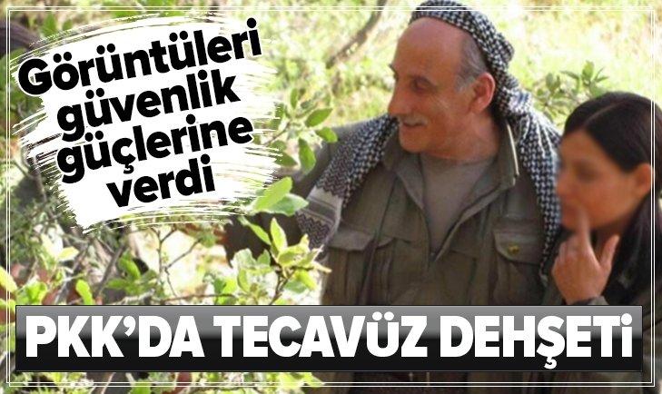 PKK'DA TECAVÜZ DEHŞETİ! TACİZ GÖRÜNTÜLERİNİ VERDİ