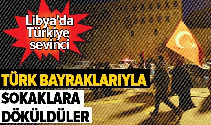 Libya'da Türkiye'nin tezkere kararı kutlandı