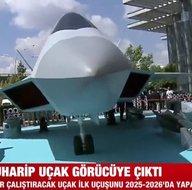 A Haber Milli Muharip Uçak'ı görüntüledi! Türkiye'nin savaş uçağı için tarih verildi