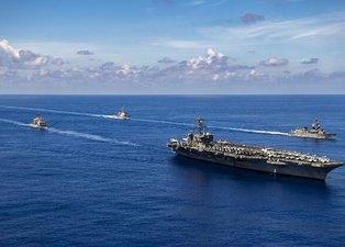 Rusya ve ABD donanmaları karşı karşıya geldi! Tehlikeli yakınlaşmada dikkat çeken detay