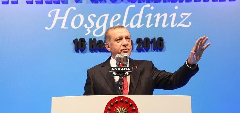 ERDOĞAN: SIRA ARTIK HDP'Lİ BELEDİYELERDE