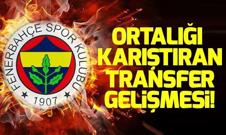 FENERBAHÇE'DE SON DAKİKA TRANSFER GELİŞMESİ!