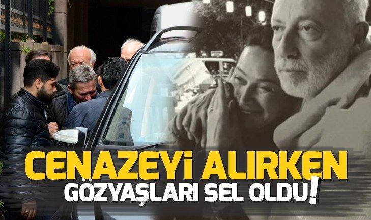 DEMET AKBAĞ'IN EŞİ ZAFER ÇİKA'NIN NAAŞI GÖZYAŞLARIYLA TESLİM ALINDI!