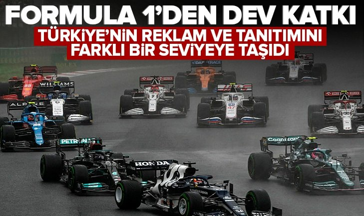 Formula 1'den Türkiye'ye dev katkı! Dudak uçuklatan rakam