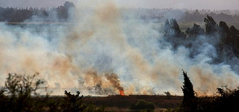 SURİYE TOPRAKLARINDAN GOLAN TEPELERİ'NE ROKET ATILDI