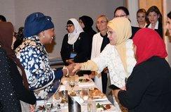 Müslüman Toplumun Kadın Temsilcileriyle görüştü