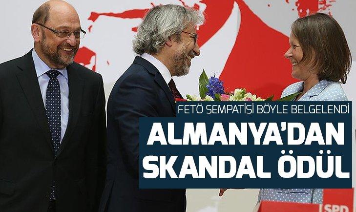 ALMANYA'DAN TÜRKİYE DÜŞMANLARINA ÖDÜL!