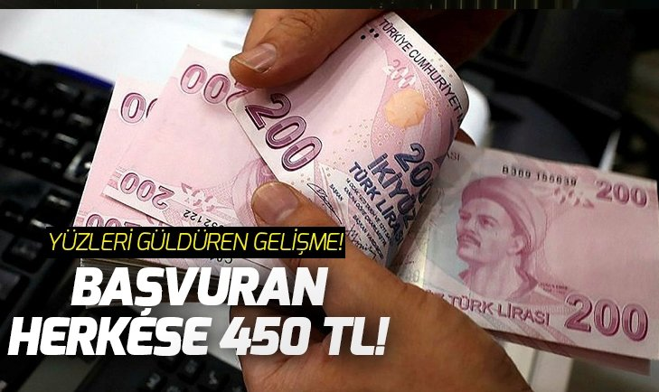 EMEKLİYE 450 LİRA ZAM!