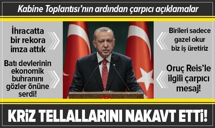 Başkan Erdoğan başkanlığında kritik toplantı