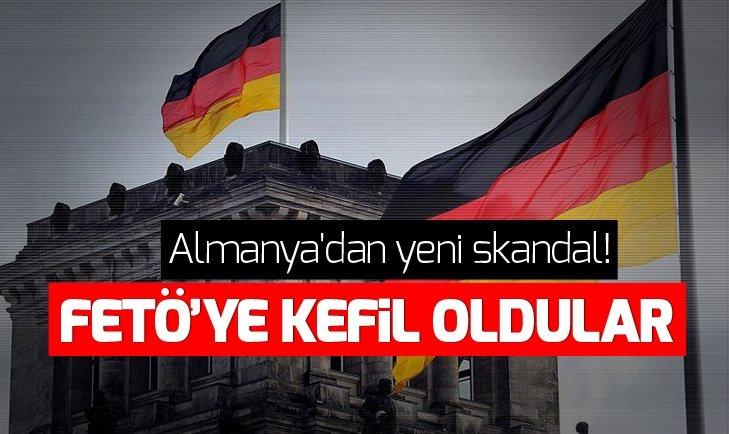 ALMANYA'DAN SKANDAL: FETÖ'YE KEFİL OLDULAR