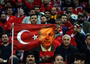 Türkiye İzlanda maçından ilk görüntüler
