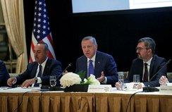Başkan Erdoğan'dan ABD'de kritik toplantı