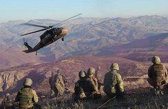Gri kategorideki PKK'lı ölü ele geçirildi
