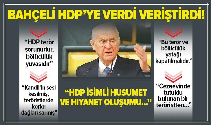 HDP'nin kapısına kilit vurulmalıdır!