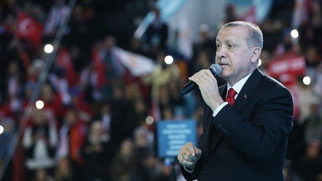 Erdoğan: Türkiye ne zaman yükselişe geçmişse...