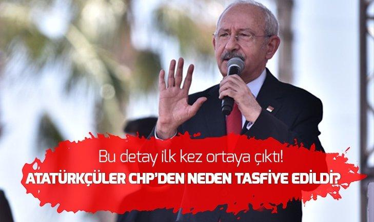 Atatürkçüleri CHP'den kim tasfiye etti?
