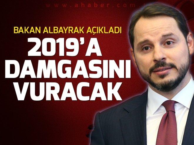 Bakan Albayrak açıkladı! 2019'a damgasını vuracak