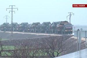Türk tankları Münbiç yolunda!