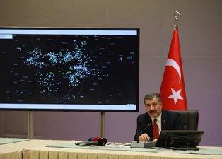 Türkiye'nin koronavirüs haritası Bakan Koca tarafından paylaşıldı! İşte Türkiye'nin koronavirüs haritası