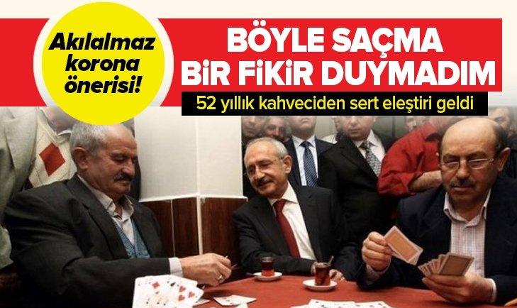 Kılıçdaroğlu'nun akılalmaz korona önerisine sert eleştiri!