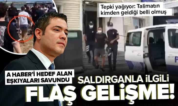 CHP'li İBB SözcüsüMurat Ongun A Haber çalışanlarını darbeden cankurtaranlara sahip çıktı! Saldırganla ilgili flaş gelişme