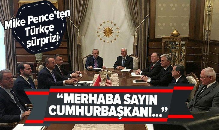 ABD BAŞKAN YARDIMCISI'NDAN DİKKAT ÇEKEN TÜRKÇE DETAYI!