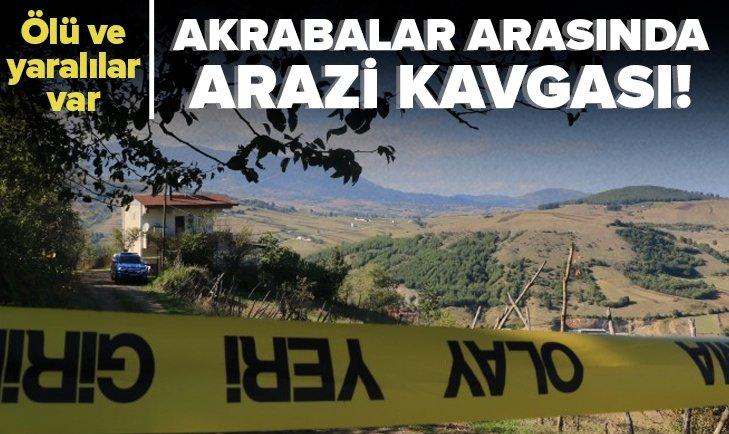 Arazi kavgasında kan aktı! 1 kişi öldü