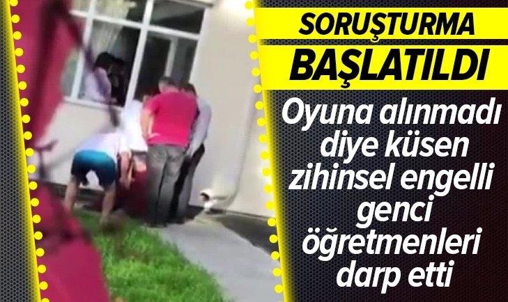 KAYSERİ'DE ZİHİNSEL ENGELLİ ÖĞRENCİYE ŞİDDET