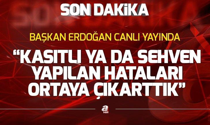 Başkan Erdoğan İstanbul muhtarlarıyla iftar programında